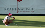 Kraft Nabisco Championship R1 Momoko Ueda 18th Green.jpeg